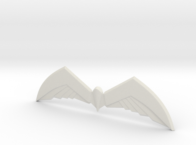 Arkham Birdarang v2 in White Strong & Flexible