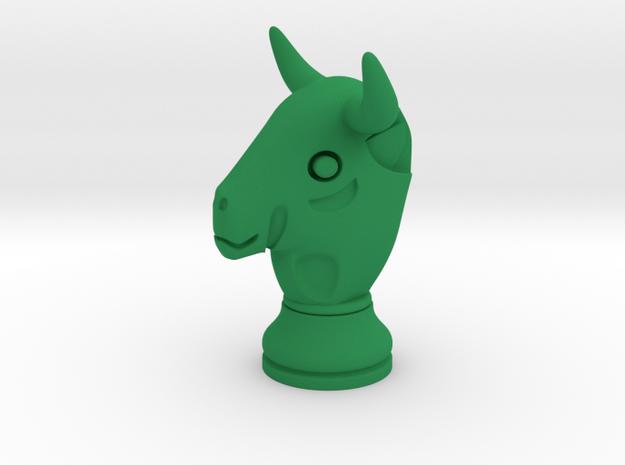 Pawn of Thaur / Bull Small Single in Green Processed Versatile Plastic