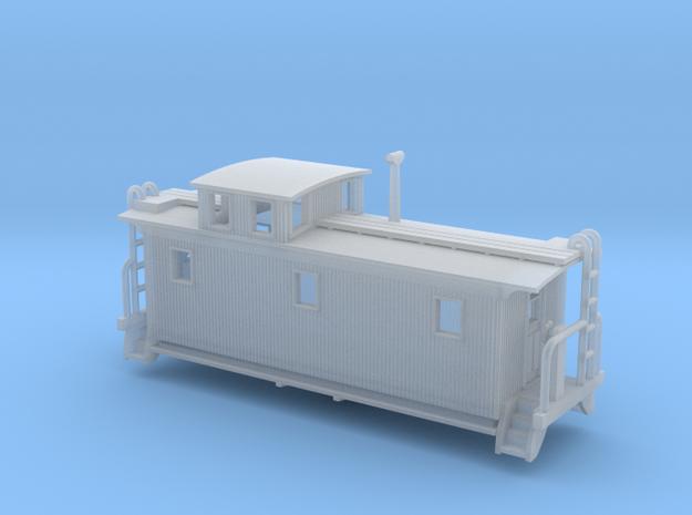 DMIR K1 Woodside Caboose - Nscale 3d printed