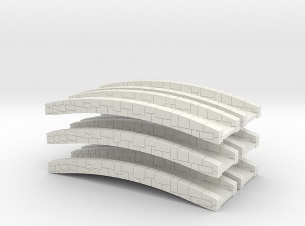 Bridge 2.0 [x6] in White Strong & Flexible