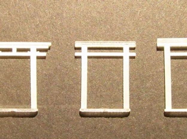 Torii all versions, small set in Frosted Ultra Detail