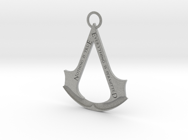 Assassin's creed logo-bottle opener (with ring)