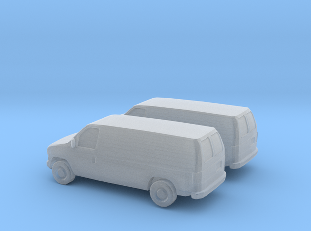 1/160 2X 2002-07 Ford E-Series Van in Frosted Ultra Detail