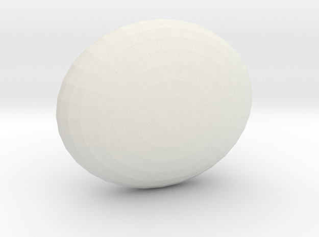 """Sphere1 """" in White Strong & Flexible"""