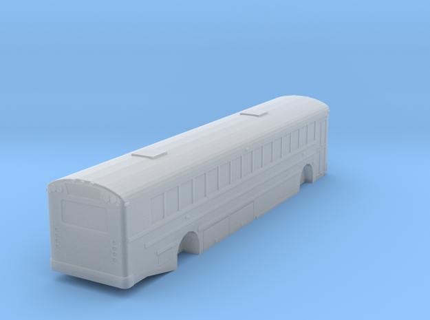 n scale school bus 2015 ic re 300 (long) in Smooth Fine Detail Plastic