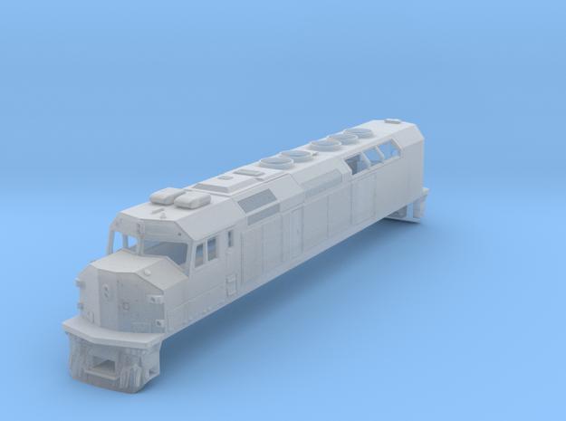 N Scale EMD F40C (Metra) 3d printed