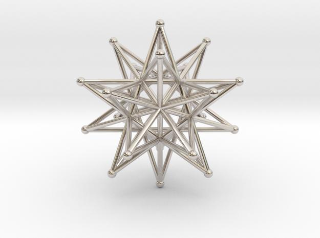 Stellated Icosahedron 40mm Sacred Geometry