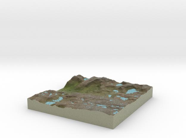 Terrafab generated model Thu Jul 02 2015 18:25:37  in Full Color Sandstone