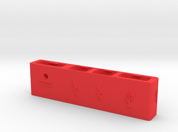 Macbook Pro Retina Cable Organizer With USB