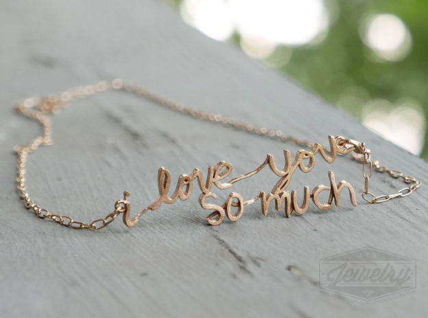 """i love you so much"" Pendant"