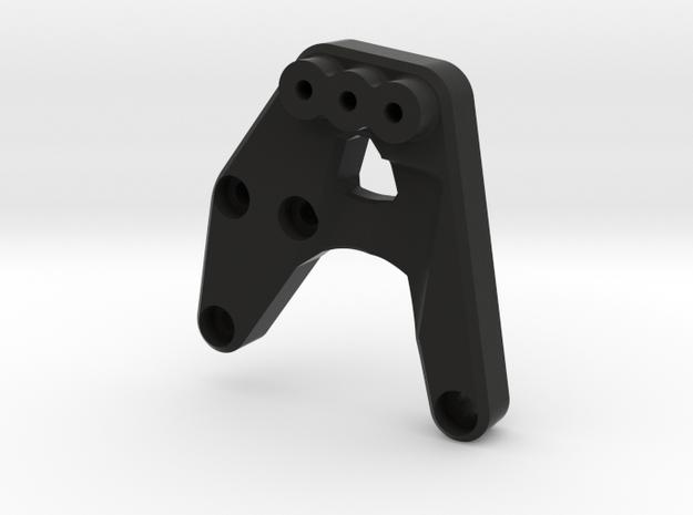 Jeep Tj Custom Kit - Front Shock Mount Sx in Black Natural Versatile Plastic