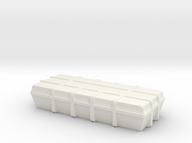 sci fi cargobox in White Natural Versatile Plastic