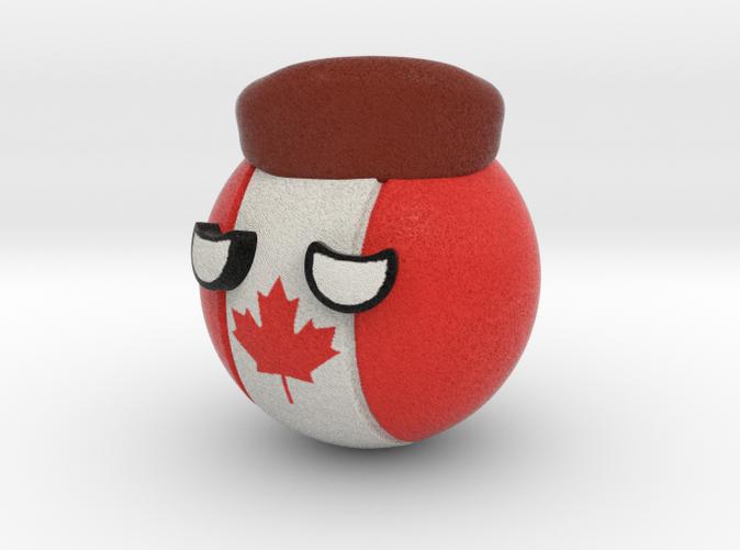 Countryballs Canada- Full Color Sandstone
