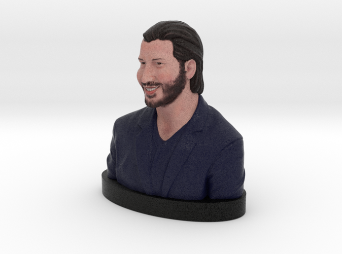 Keanu Reeves - Full Color Sandstone