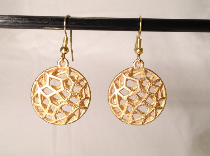 Bio Cell Earrings