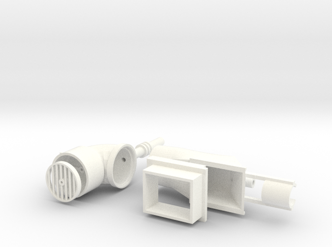 render of White Strong & Flexible Polished