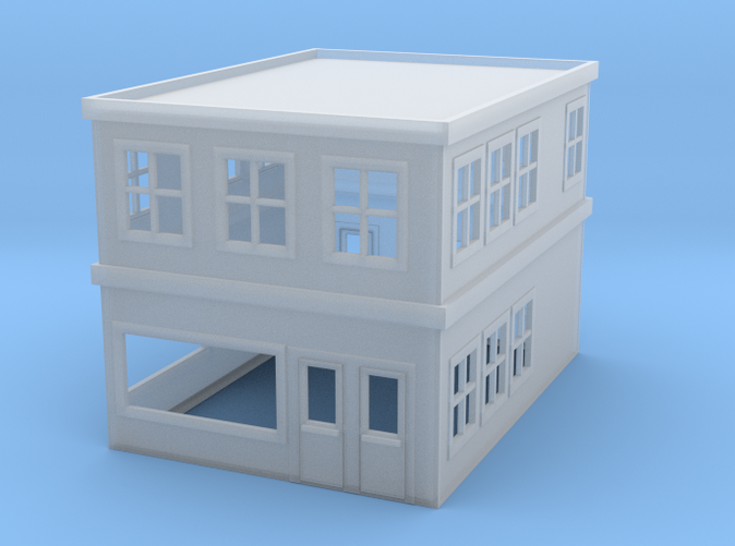 city building HO scale
