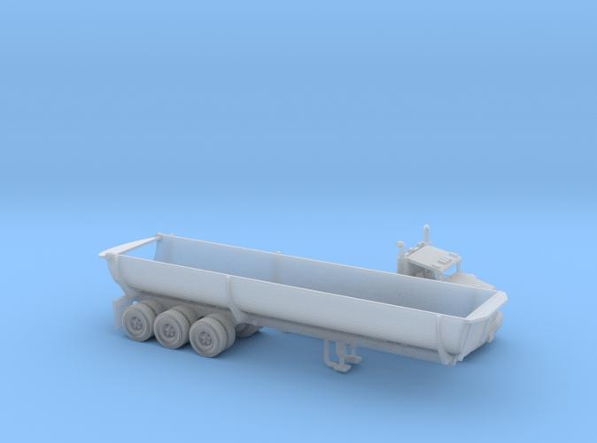 Cylinder Dump Trailer N scale
