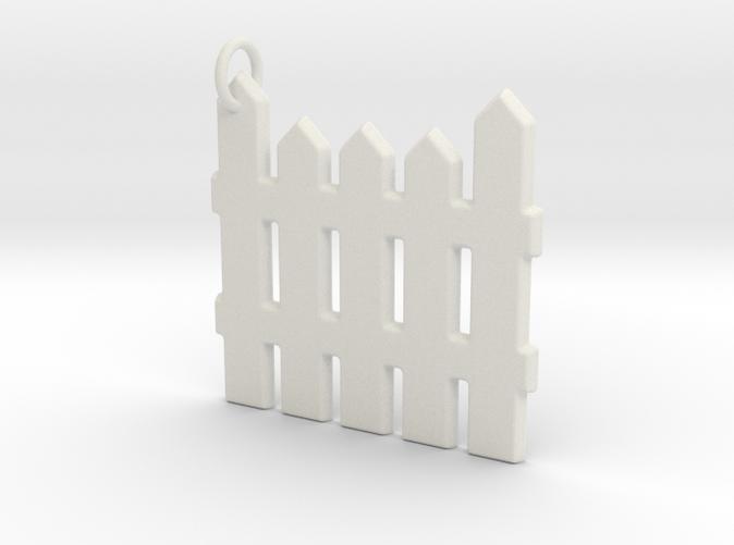 Flexible White Plastic Fence