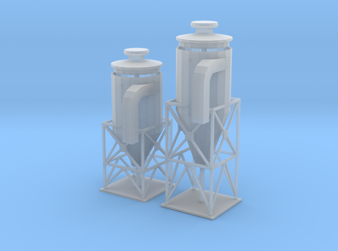 two dust filter z scale