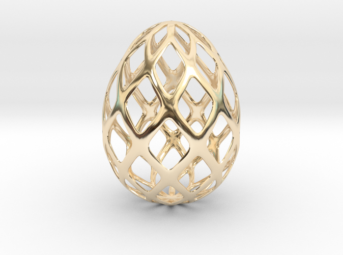 gold plated egg