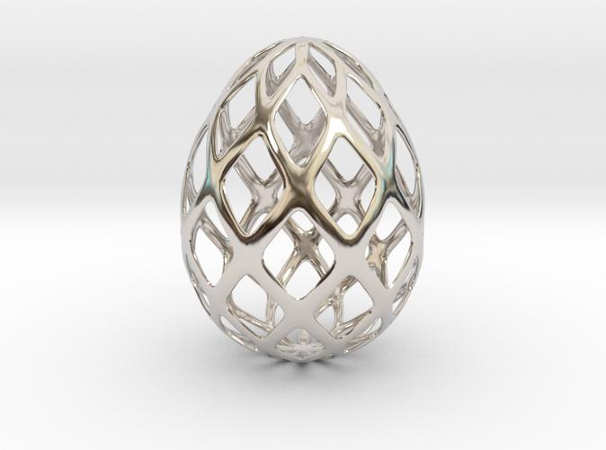 3d mesh egg