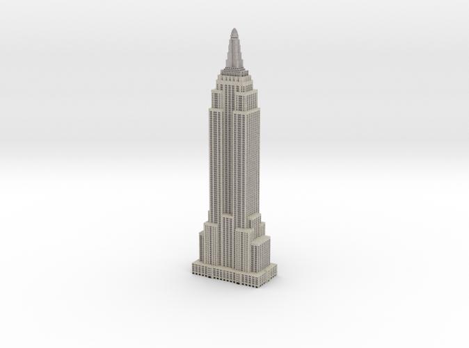 Empire State Building Model Replica