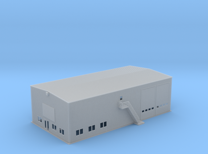 OVS Warehouse Business Facility Z scale