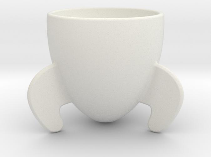 Rocket Espresso Cup by isohedral on Shapeways