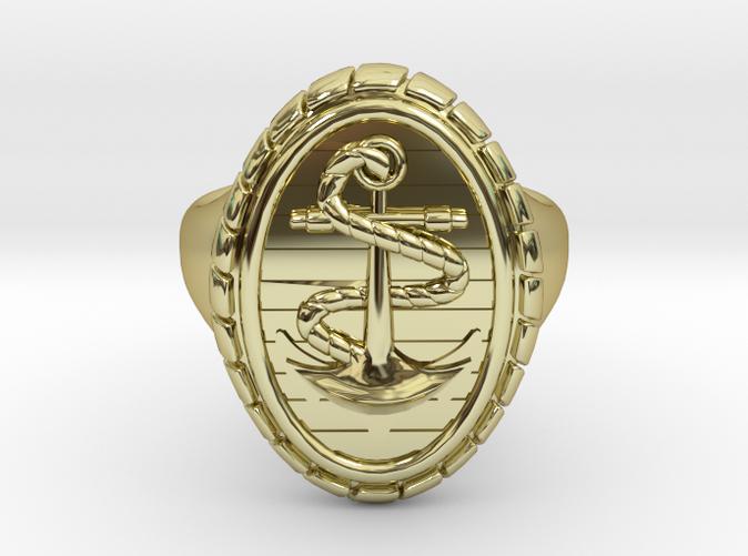 CAPRI Ring in 18k Gold Plated