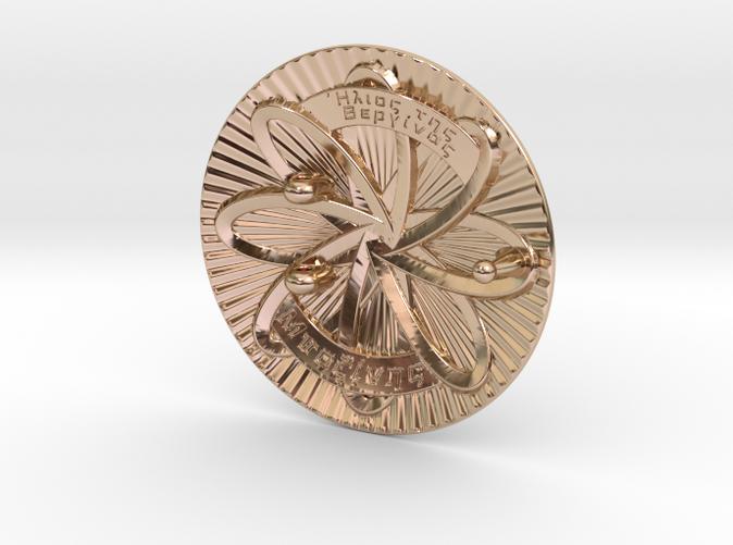 14k Rose Gold(rear)