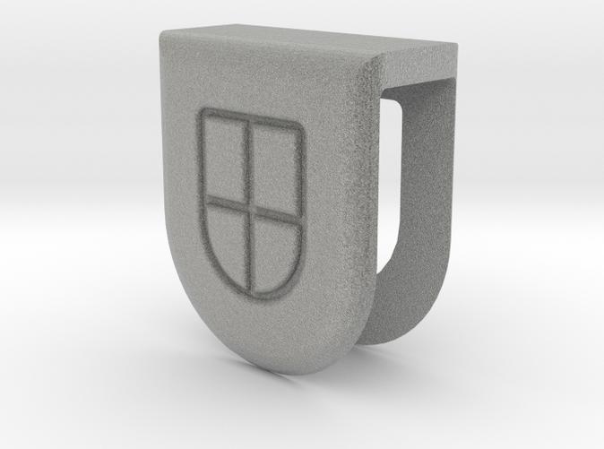 3D Webcam Cover rendering - White Strong & Flexible