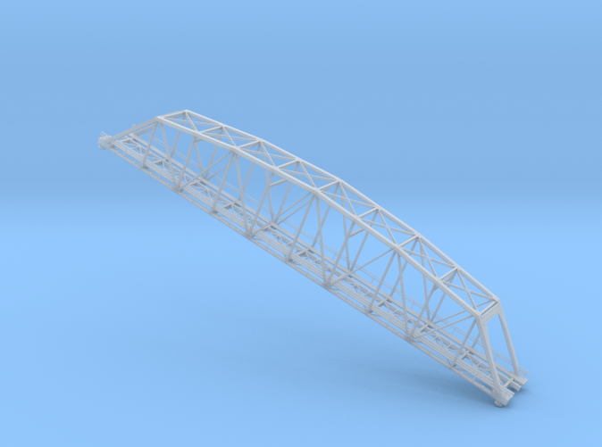 219 ft truss bridge Z scale