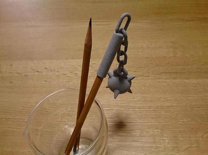 Morning star pen cap (Alumide)