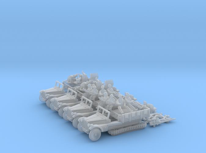 Sd Kfz 10 4 Flak 30 4 Pack Dx4z2dmen By Steven3d