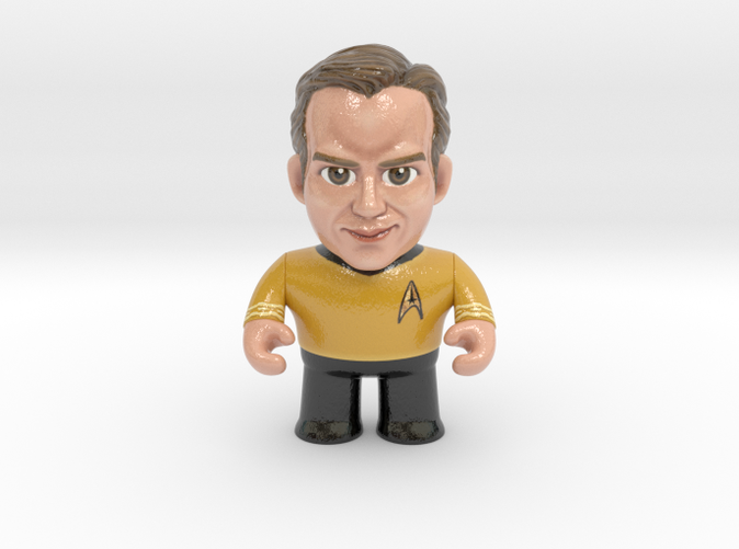 Captain Kirk Star Trek Caricature