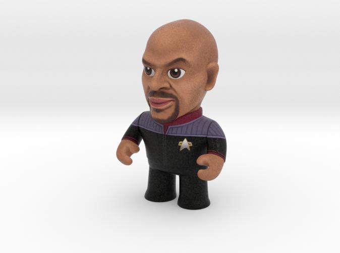 Sisko Star Trek Caricature