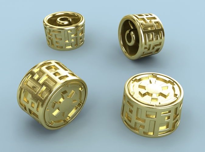 Polished Brass render