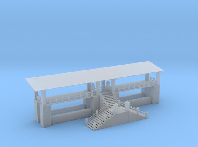Mono Rail Station Z scale