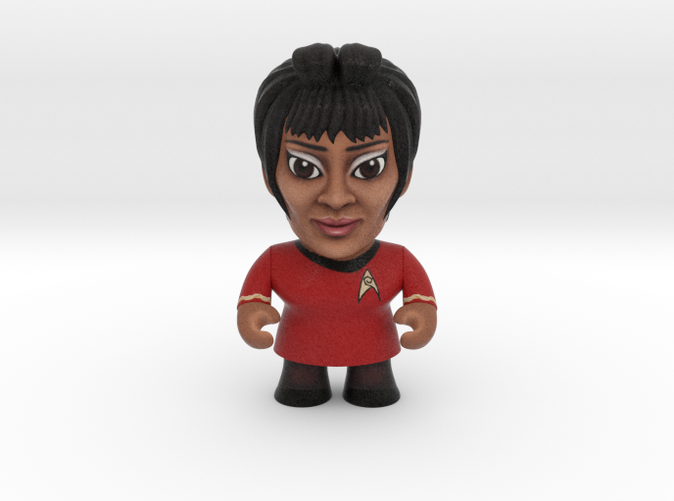 Uhura Star Trek Caricature