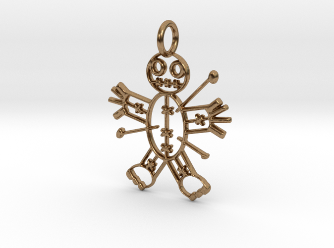 Voodoo Doll of Halloween Pendant (Different materials have different prices)