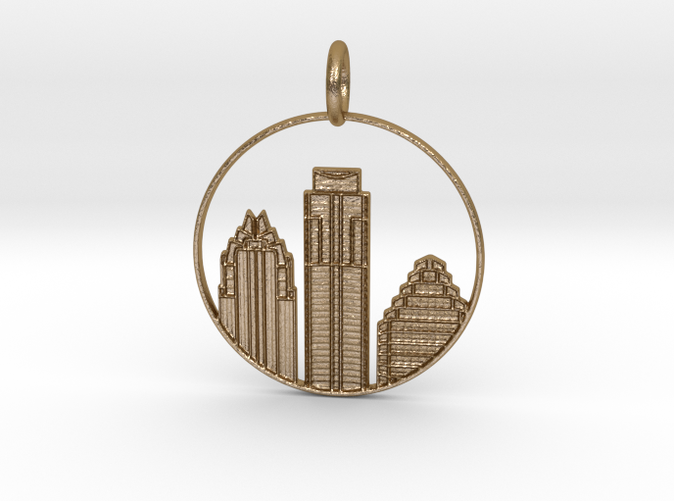 Austin Pendant with Loop (different materials have different prices)