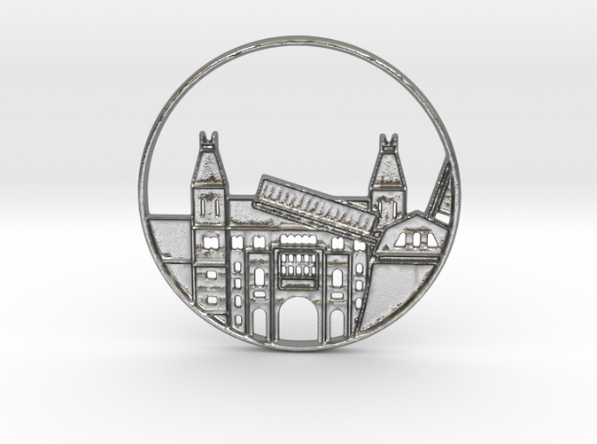 Amsterdam Netherlands Pendant  (different materials have different prices)