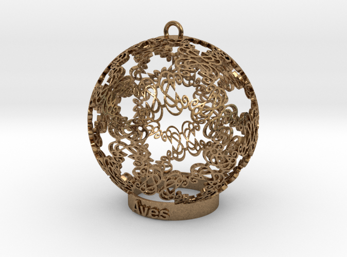 Aves Ornament (different materials have different prices)