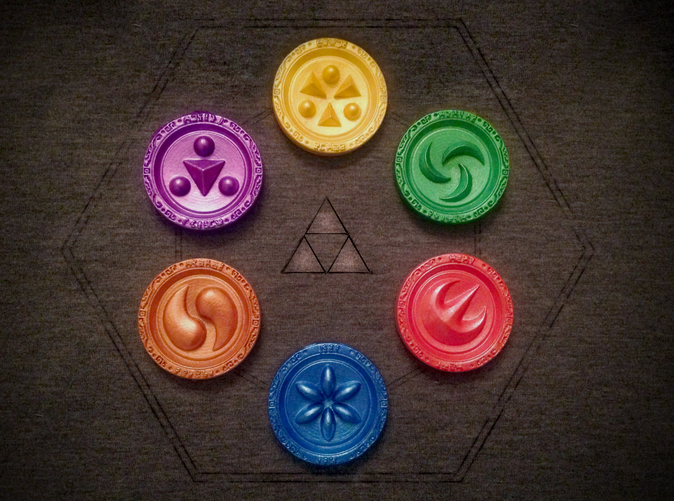 The Sages have trusted you with their 6 elemental medallions!
