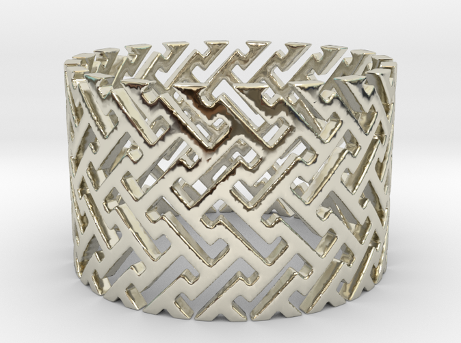 Woven Ring is shining spectacularly.