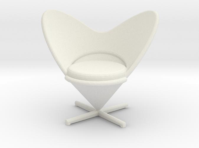 Heart Cone Chair - Verner Panton