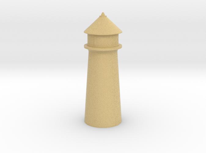 Lighthouse Pastel Orange