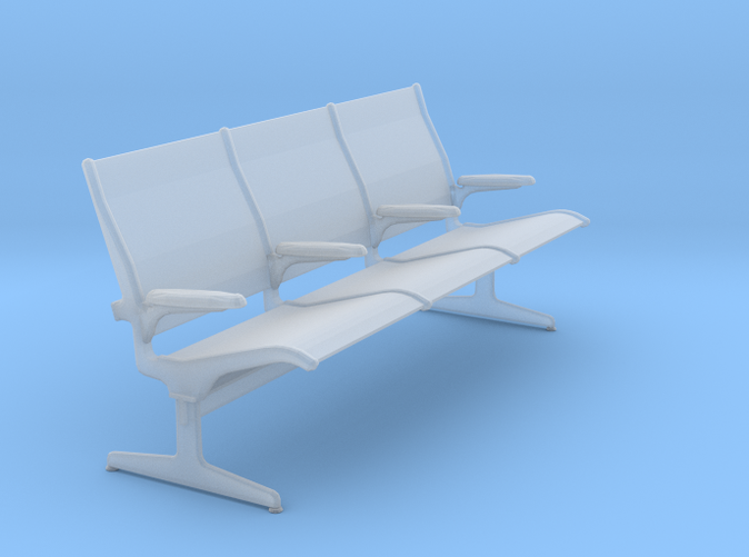 Eames Tandem Sling Seating - Charles & Ray Eames