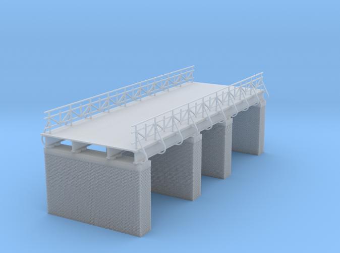 railroad or highway bridge Z scale